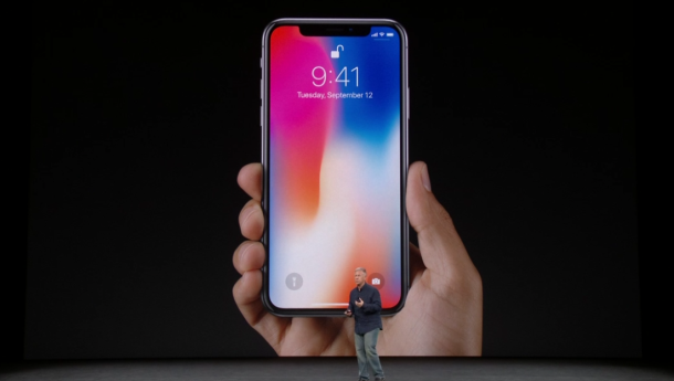 iPhone X and iPhone 8